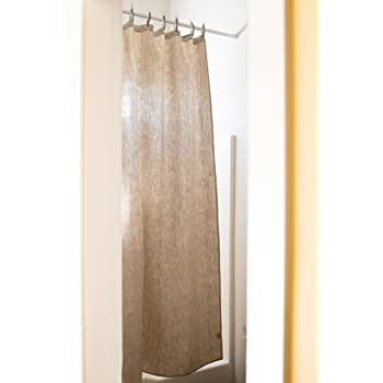 "Organic Hemp Shower Curtain Full Size (73.5""x72"") - Natural"