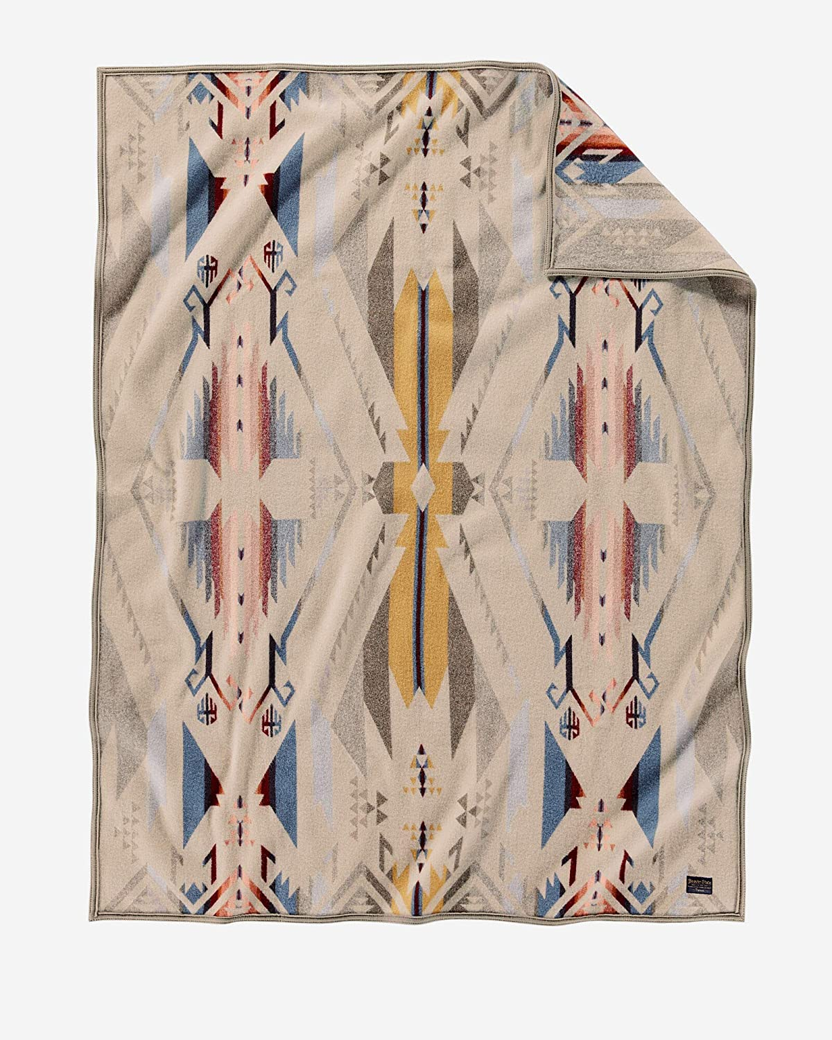 Pendleton Max 56% OFF 4 years warranty Jacquard Throw White One Sands Size