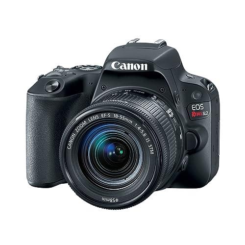 san francisco 14e00 e2656 Amazon.com   Canon EOS Rebel SL2 DSLR Camera with EF-S 18-55mm STM Lens -  WiFi Enabled   Camera   Photo