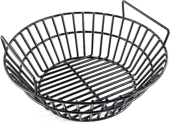 The Best Side Charcoal Basket Kamado Cooker