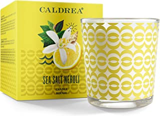 Sponsored Ad - Caldrea Scented Candle, Made with Essential Oils and Other Thoughtfully Chosen Ingredients, 45 Hour Burn Ti...
