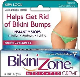Bikini Zone Medicated Creme for Bikini Area 1 oz (Pack of 5)