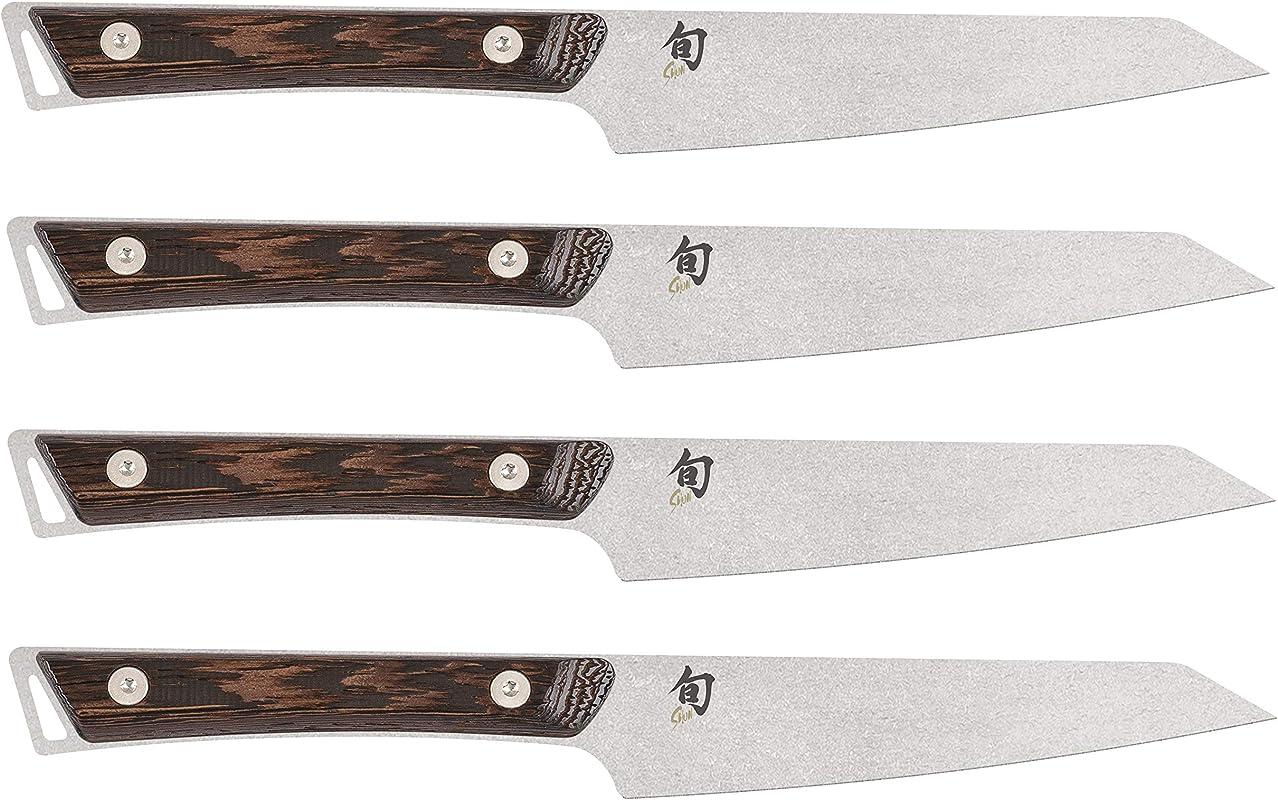 Shun Kanso Steak Knife 4 Piece Set SWTS0430 SWT0711 Steel