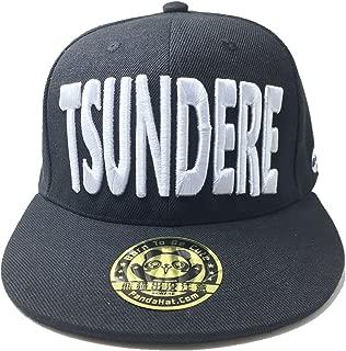 PANDAHAT Tsundere 3D Puff Embroidery Snapback Hat
