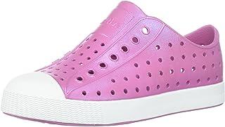 Native Kids Iridescent Jefferson Water Proof Shoes, Malibu Pink/Shell White/Galaxy Iridescent, 2 Medium US Little Kid