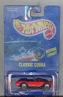 Hot Wheels 1991-31 Classic Cobra All Blue Card 1:64 Scale