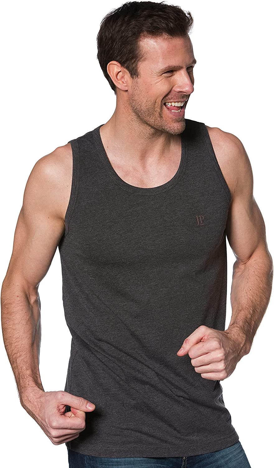 JP 1880 Men's Big Tall Manufacturer OFFicial shop Tank Cotton Basic Top NEW before selling 705145