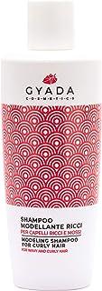 Gyada Cosmetics GC011 Shampoo Modellante Ricci, Certificato Bio, 250 Ml
