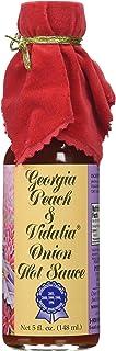 Georgia Peach and Vidalia Onion Hot Sauce (Pack of 3)