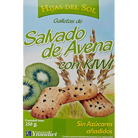 HIJAS DEL SOL GALLETA AVENA + KIWI 250 gr