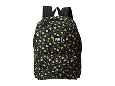 Vans Realm Classic Backpack (Polka Ditsy) Backpack Bags