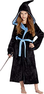 INTIMO Harry Potter Costume Kids Plush Robe Hogwarts Houses Gryffindor, Ravenclaw, Hufflepuff, Slytherin