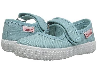 Cienta Kids Shoes 56000 (Infant/Toddler/Little Kid/Big Kid) (Mint) Girls Shoes