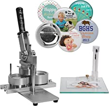 2-1/4 Inch NEIL Button Machine - Includes 100 Buttons