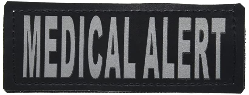 Dogline Medical Alert Removable Patches with VELCRO brand backing