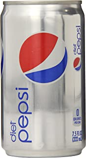 Diet Pepsi, 7.5 Fl Oz Mini Cans, 24 Pack