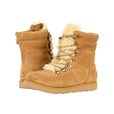 UGG Kids Viki Waterproof (Little Kid/Big Kid) (Chestnut) Girls Shoes