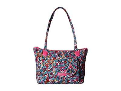 Vera Bradley Carson East/West Tote (Kaleidoscope) Tote Handbags