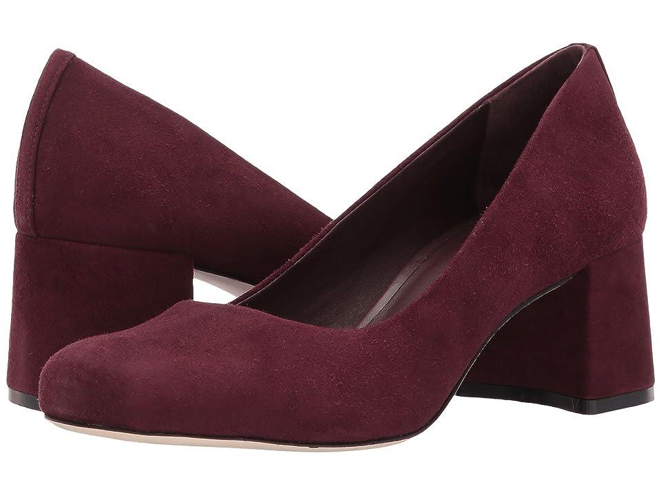 Image of Bernardo Jackie (Bordeaux Suede) Women's Shoes