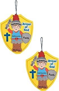 Oriental Trading 24 Armor of God Hanging Decor Sign Craft Kits