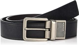 Calvin Klein Men's 38 Mm Feather Edge Semi Shine Belt