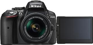 Nikon D5300 Kit con objetivo AF-P 18-55mm VR - Cámara réflex digital de 24.2 Mp (pantalla 3.2 estabilizador óptico grabación de vídeo Full HD) color negro - [Versión europea]