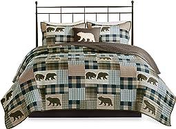 Reversible Quilt Cabin Lifestyle Design -