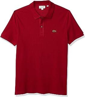 Mens Classic Pique Slim Fit Short Sleeve Polo Shirt