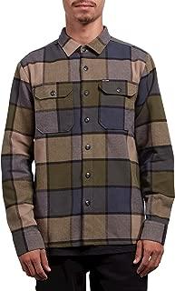 Men's Randower Modern Fit Woven Long Sleeve Button Up Shirt