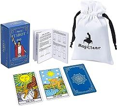 MagicSeer Original Pocket Tarot Cards Deck with Guidebook and Tarot Card Bag Cotton Pouch