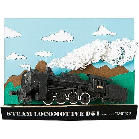 ペーパーナノ フレームインシリーズ 蒸気機関車 PNF-004