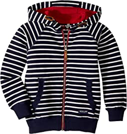 Striped Zip-Up Sweatshirt (Toddler/Little Kids/Big Kids)