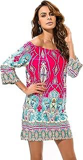 long sleeve tribal bodycon dress