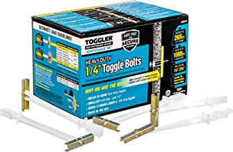 TOGGLER SNAPTOGGLE BB Toggle Anchor, Zinc-Plated Steel Channel, Made in US, 3/8