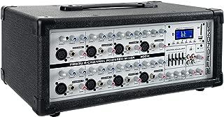 Pronomic PM83U Power - Mezclador amplificador de 8-canales con USB/SD/Bluetooth, MP3-Player
