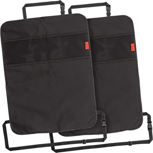 Lusso Gear Heavy Duty Kick Mats (2 Pk) - Back Seat Protector, Sag Proof, Waterproof, Car Back Seat Cover for Kids Who...