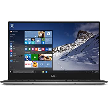 Dell XPS 13 XPS9343-8182SLV 13.3-Inch Touchscreen Laptop (Intel Core i7 5550U, 8 GB RAM, 256 GB SSD, Windows 10, Microsoft Signature Edition) Silver