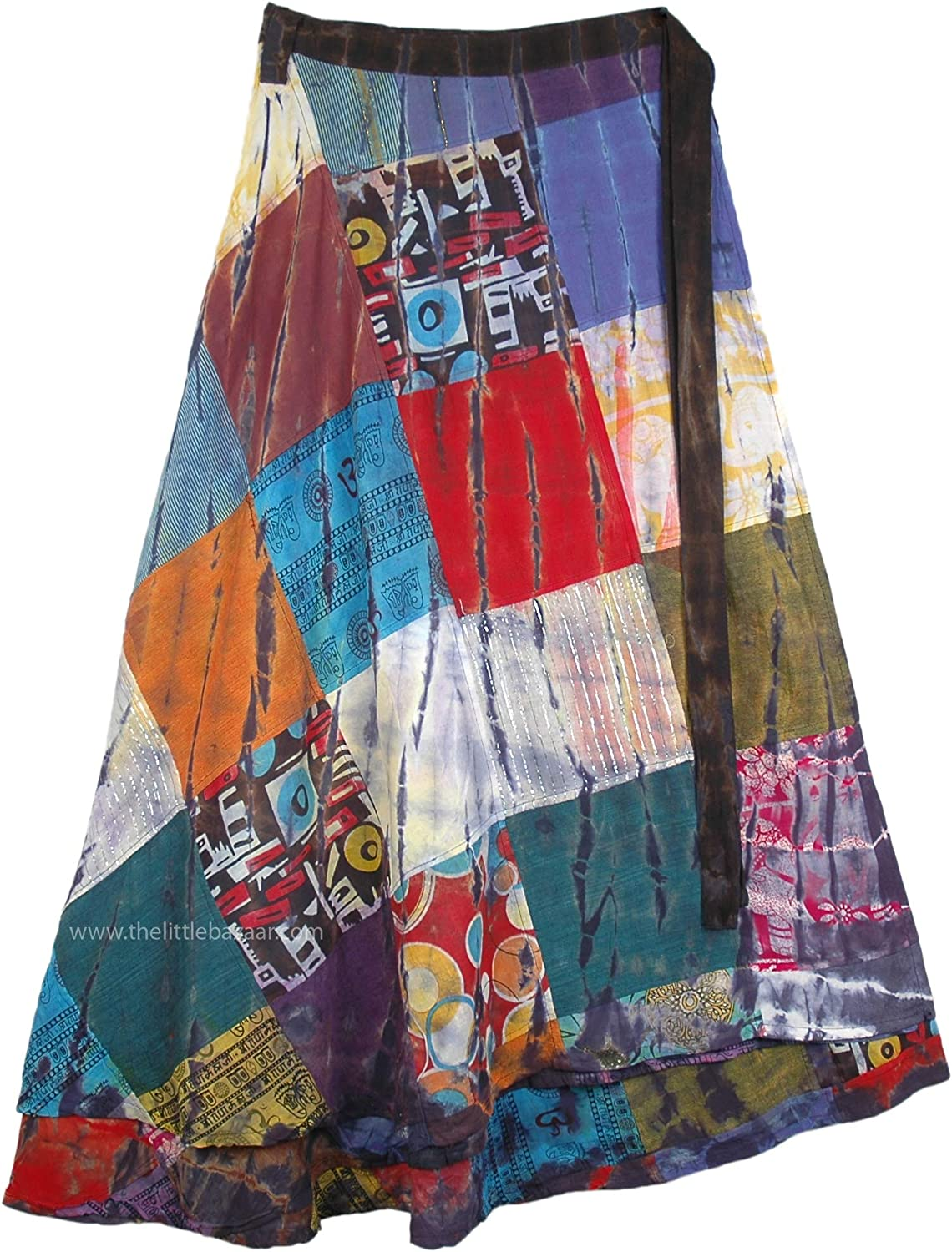 Patchwork Hippie skirt Handmade Hippie Patchwork Skirts Women/'s Skirts Calico Skirt Custom Xmall to plus size 2X 3X Skirts By Phatcatpatch