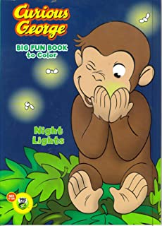 Curious George Big Fun Book to Color ~ One Cute Monkey
