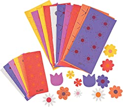 Fun Express - Flower Foam Adhesive Shapes for Spring - Craft Supplies - Foam Shapes - Regular - Spring - 500 Pieces