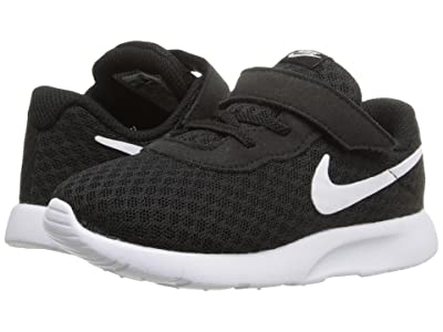 Nike Kids Tanjun (Infant/Toddler) (Black/White/White) Boys Shoes