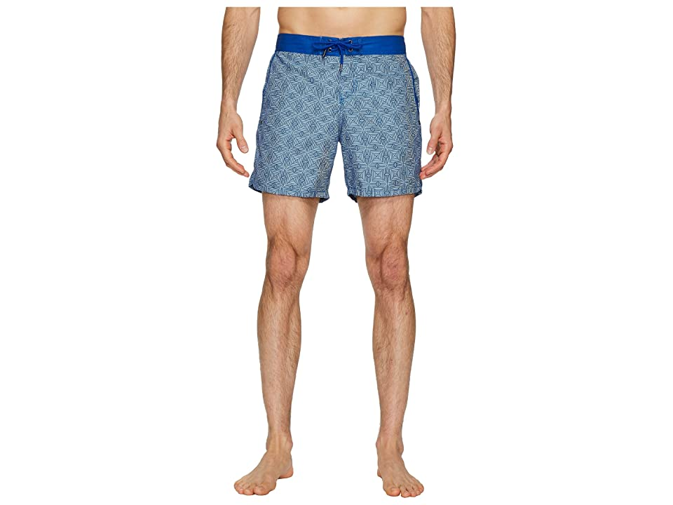 Mr. Swim Maze Chuck Swim Trunks (Navy) Men