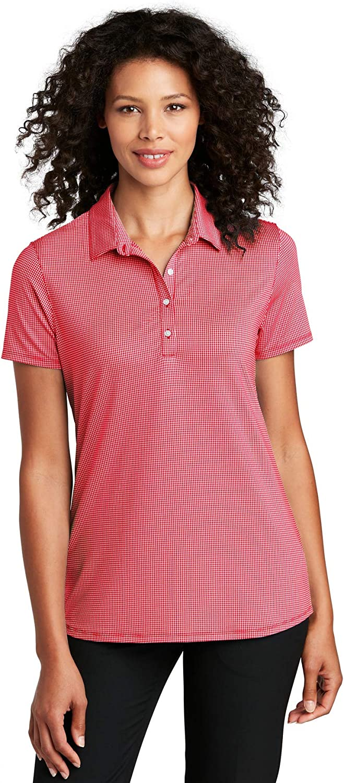 Port Authority Ladies Gingham Polo Shirt