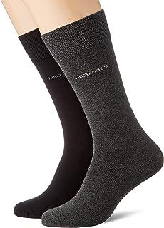 BOSS Set di 2 paia di calze e borraccia da uomo, con logo in confezione regalo