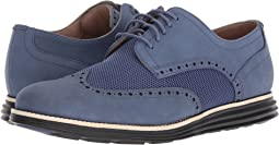 Washed Indigo Nubuck/Sandshell/Black