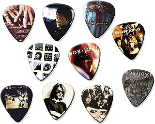 Bon Jovi Classic Recordings Set of 10 Electric Acoustic Guitar Plectrums