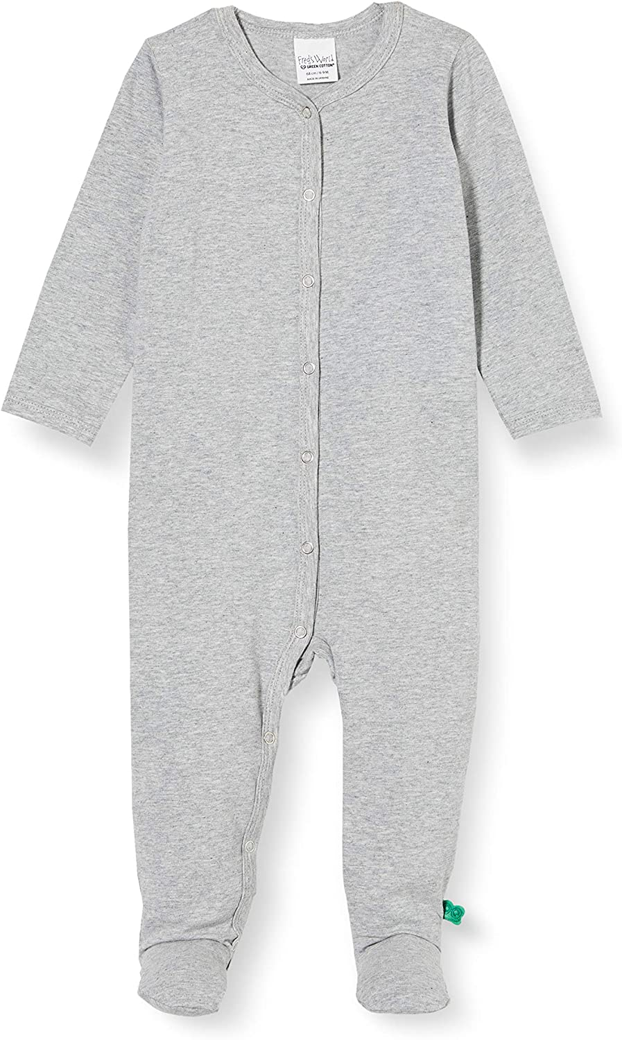 Freds World by Green Cotton Baby-Jungen Alfa Bodysuit with Feet and Toddler Sleepers