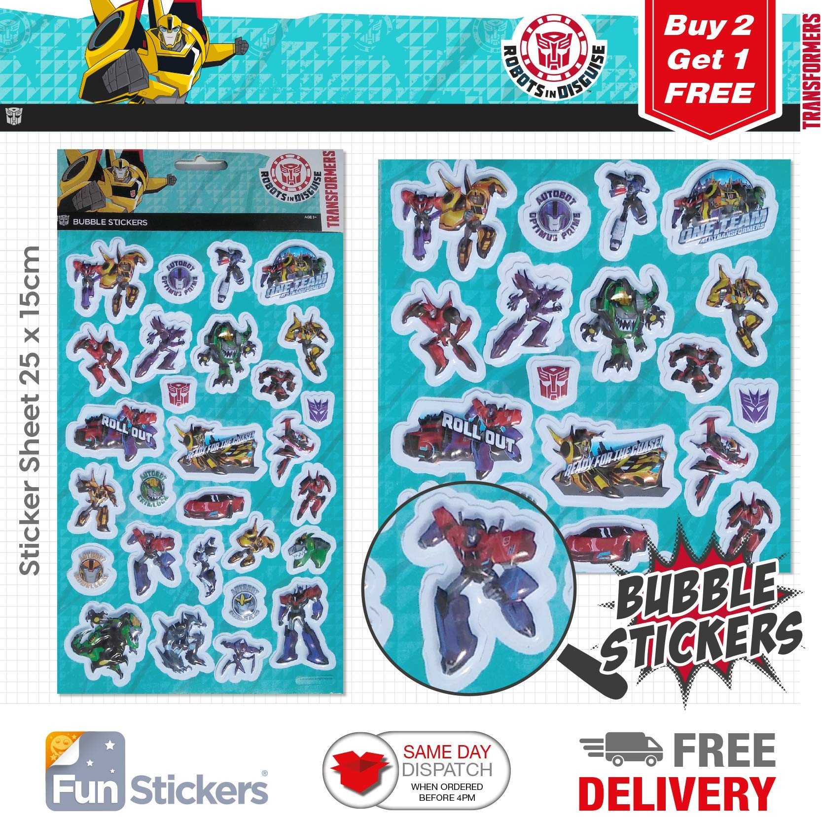 Fun stickers reptiles 838