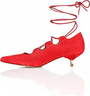 FIND Women's Lace-Up Ankle Shoes