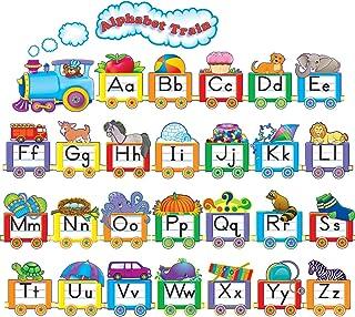 Teacher Created Resources Alphabet Train Bulletin Board Display Set (4421),Multi Color